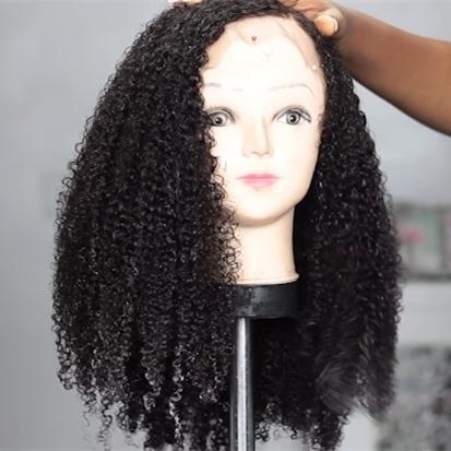 2019 New Ponytail SHORT CURLY LACE FRONT WIG