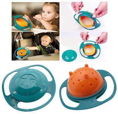 Baby Gyro Bowl - 360 Dgree Rotation Spill Resistant