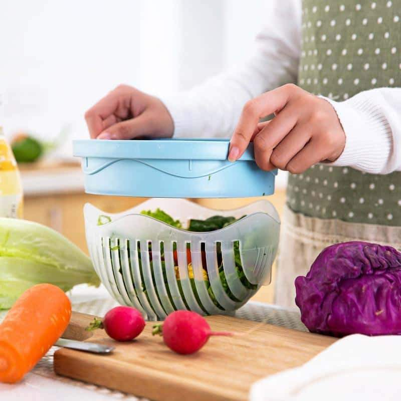 (New Year Sale-50% OFF) Fruits & Vegetables Cutter Bowl