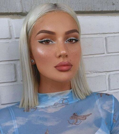 2021 New Lace Front Wigs Orange Frontal Bob Black N White Hair Cherry Red Lace Front Wig