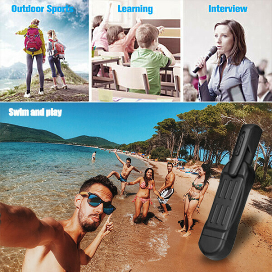 (🔥Clearance Sale - 50% OFF) PENCAM-Mini HD Video Recorder(1080P), Buy 2 Free Shipping