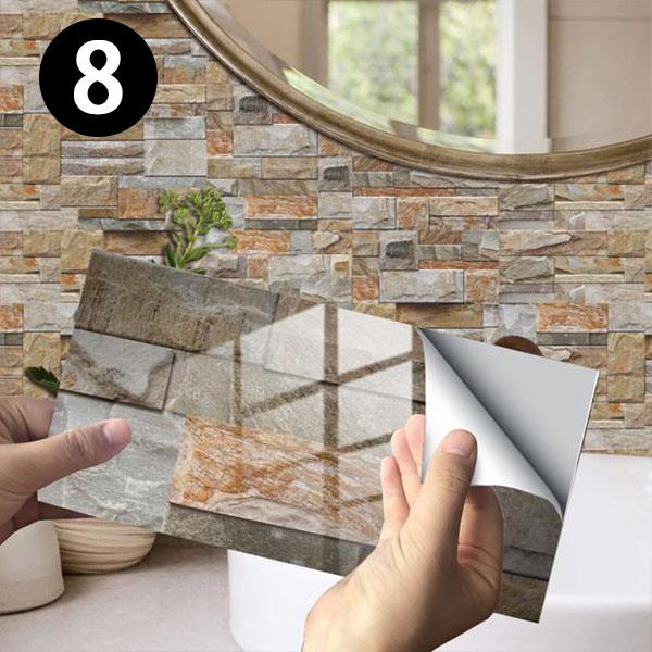 [Early Sale-50% OFF] Creative Home Beautification 3D Tile Stickers