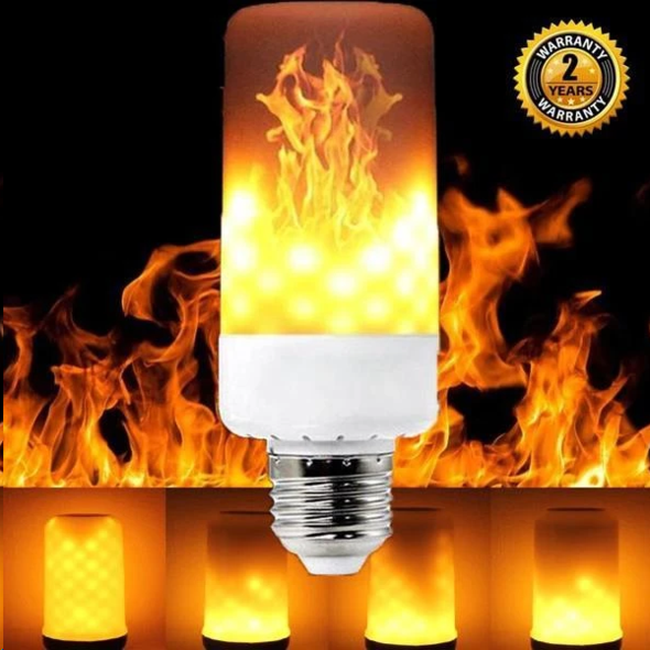🔥BUY 2 GET 1 FREE🔥LED Gravity Effect Fire Light Bulbs for Home Decor (Halloween Special)