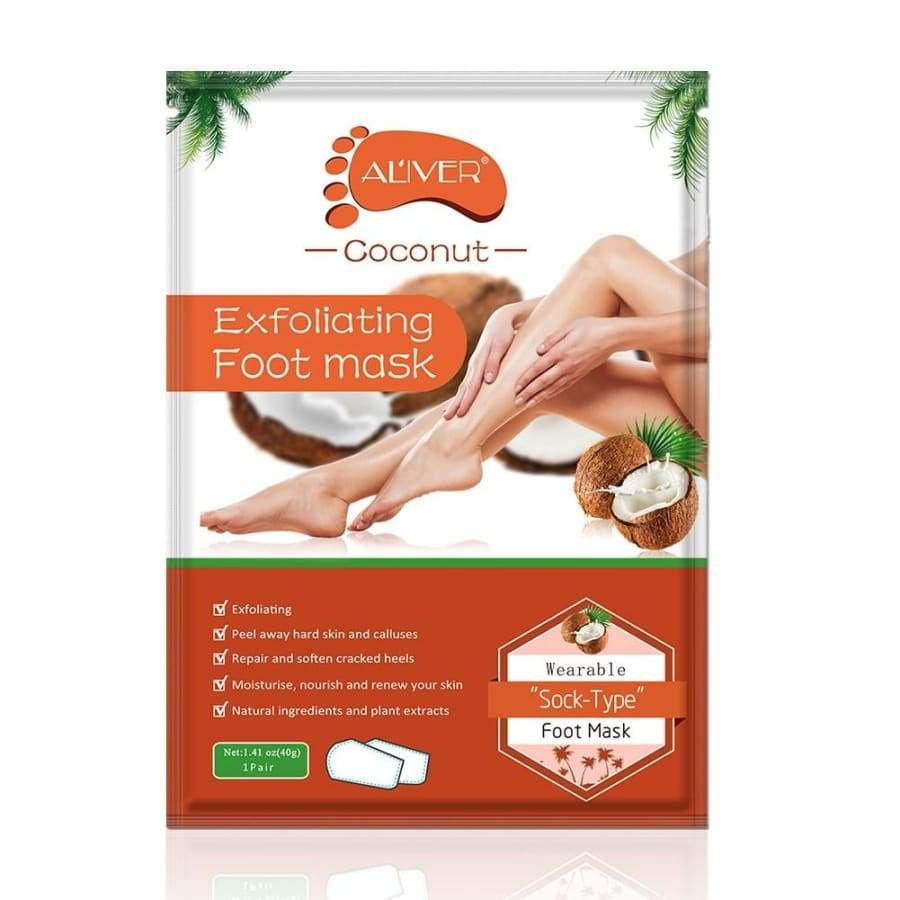 2 pairs /1 pair Health Care Foot Exfoliating Foot Mask Remove Dead Skin Cuticle Pedicure Socks