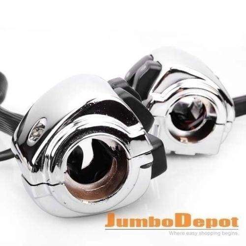 1 '25mm Motorcycle Handlebar Control Switches W / Harness For Harley Softail Dyna Sportster 1200 883 V-Rod Cruiser