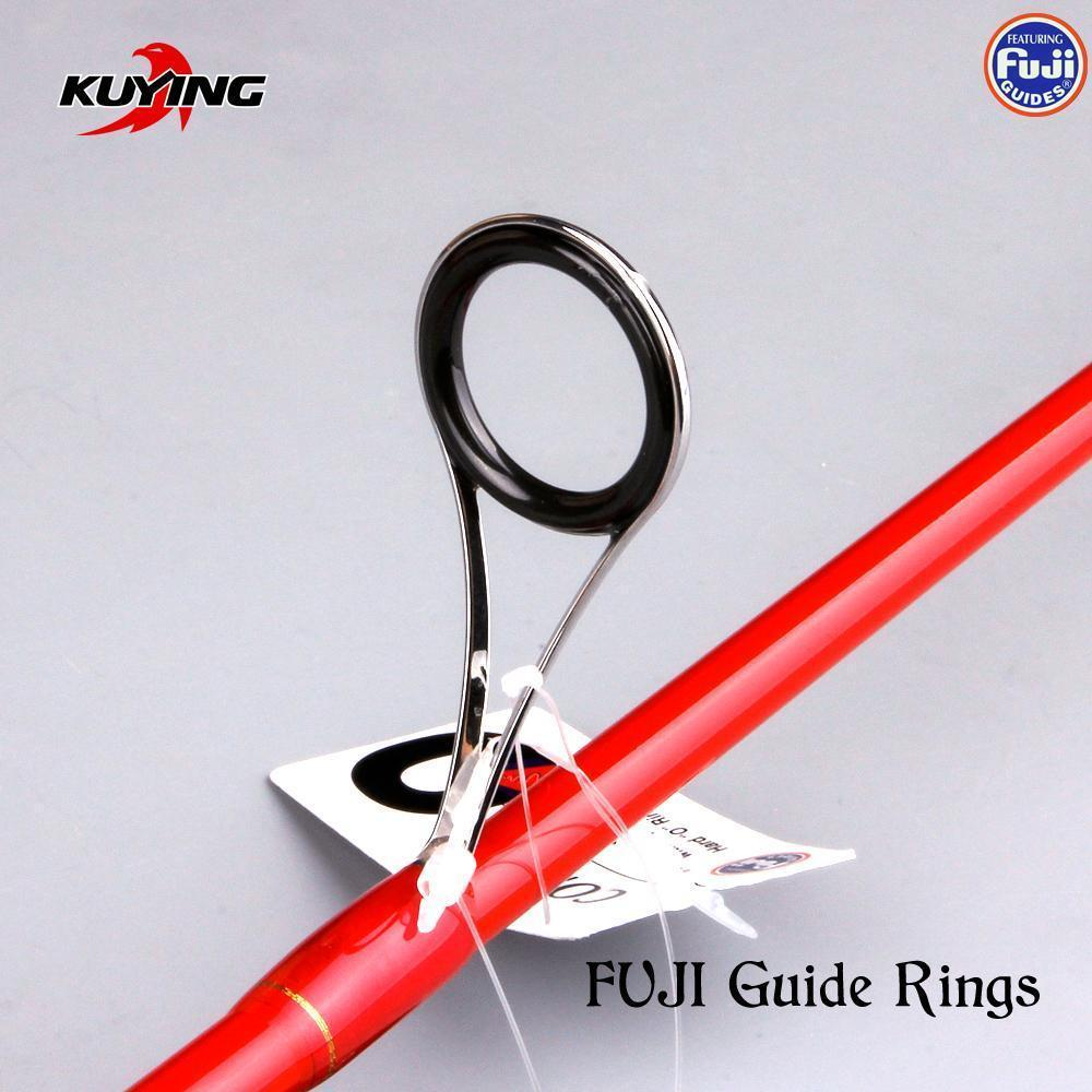 Kuying Vitamin Sea 1 Section 2.04M Carbon Spinning Casting Lure Slow Jigging