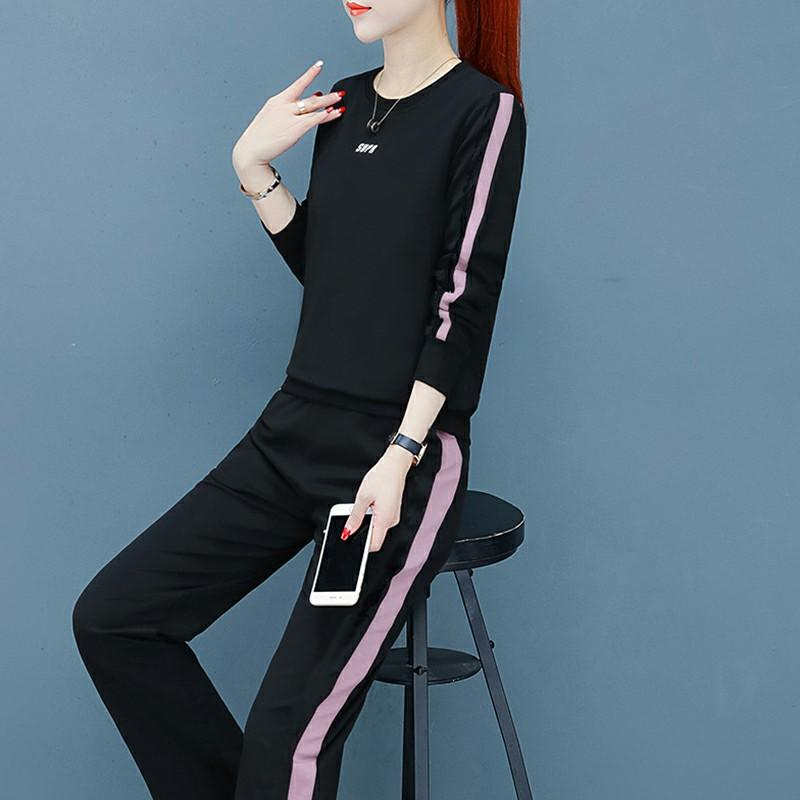 Two-piece set of sport suit