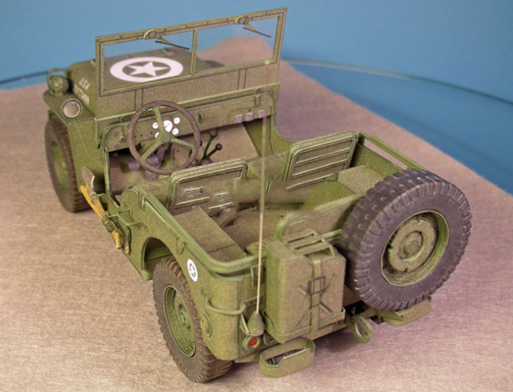 Paper Craft 1: 25 Jeep Military Vehicle Model