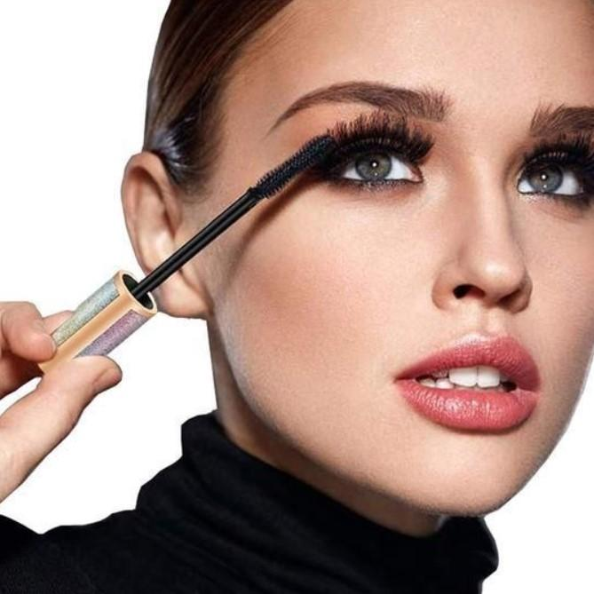 (Last Day Promotion & 50% OFF) 4D Vivid Galaxy Waterproof Silk Fiber Thick Lengthening Mascara