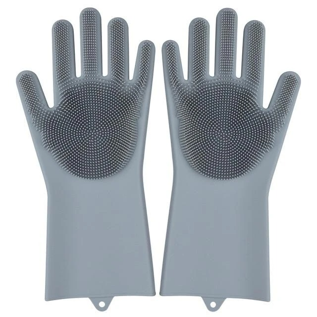 (🔥HOT SALE-50%OFF)Silicone Dise Washing Gloves