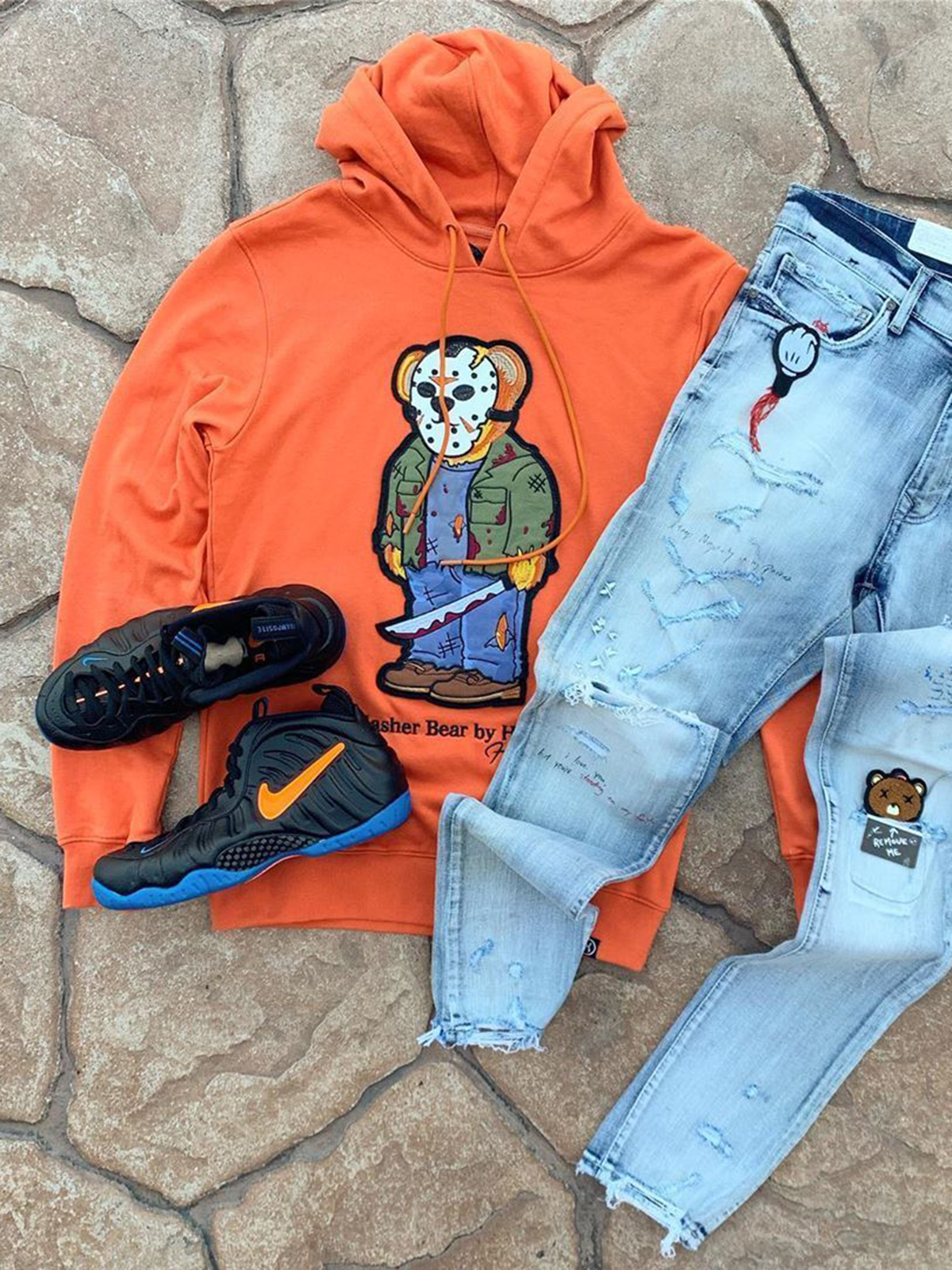 Cartoon Hooded Cowboy Suit