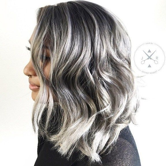 Gray Hair Wigs For African American Women Brown To Grey Hair Red Hair With Gray Highlights Brown Skin Grey Hair Going Grey Early Man Bun Wig