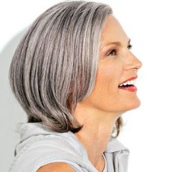 2020 New Gray Hair Wigs For African American Women Full Lace Braided Wigs Human Hair Wiglets Gray Wig With Black Roots Closure Bob Wig Fifi Mahoney