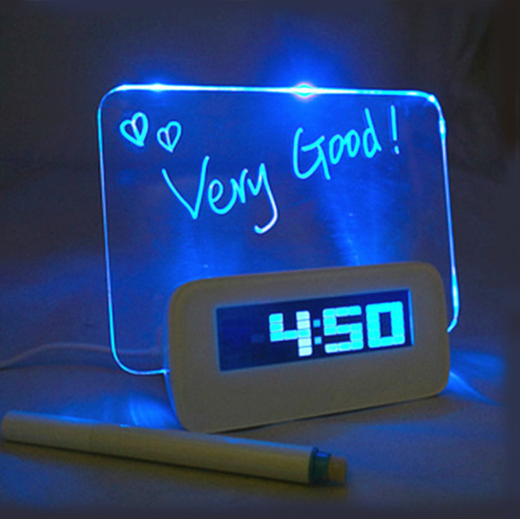 Cute Led Alarm Clock