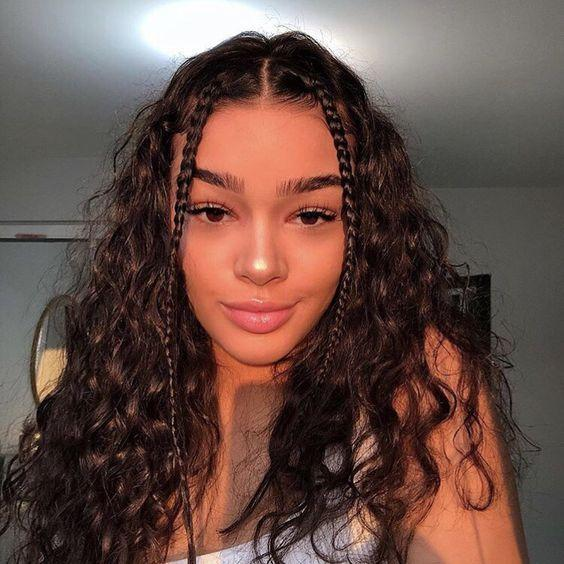 Lace Frontal Wigs Thick Curly Hair Toddler Curly Hairstyles Girl Best Loverlywigs