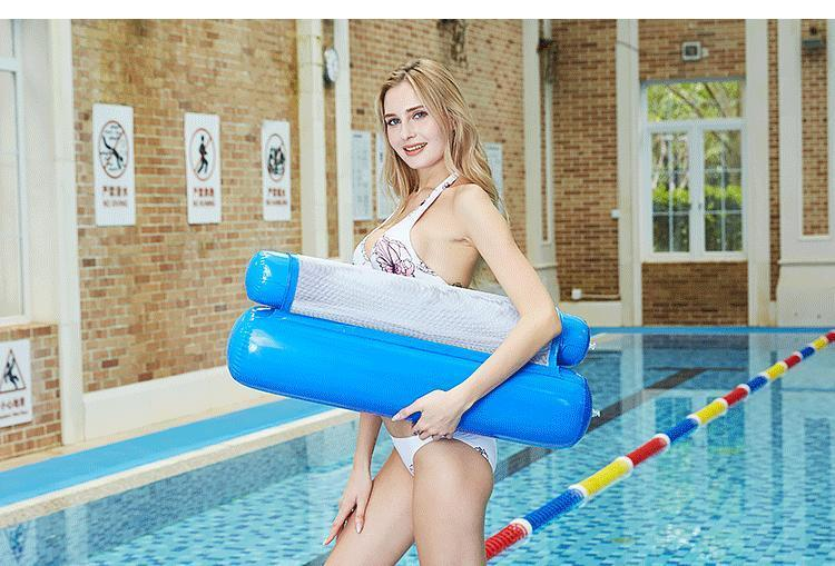 Summer Outdoor Inflatable Folding Floating Water Hammock【Flash Sale】