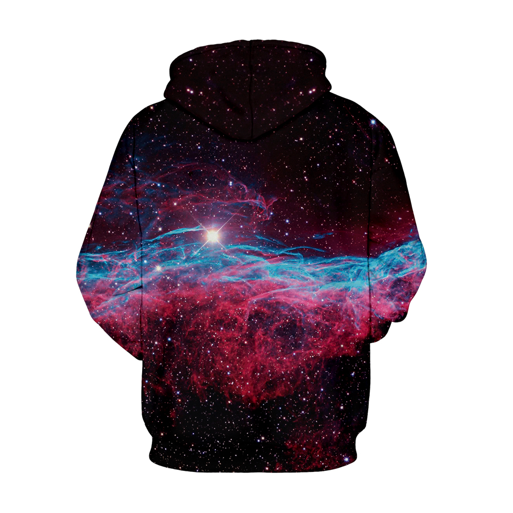 Cute Christmas Huskie Starry Pullover Couples Hoodies