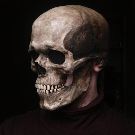 (🔥Early Halloween Promotions-48% OFF)Full Head Skull mask/helmet with Movable Jaw(BUY 2 GET FREE SHIPPING)