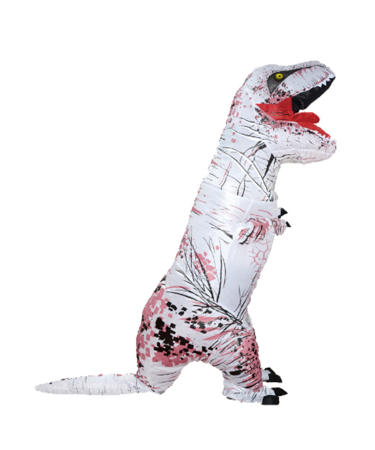 Inflatable T-Rex Costume Official Jurassic World-White