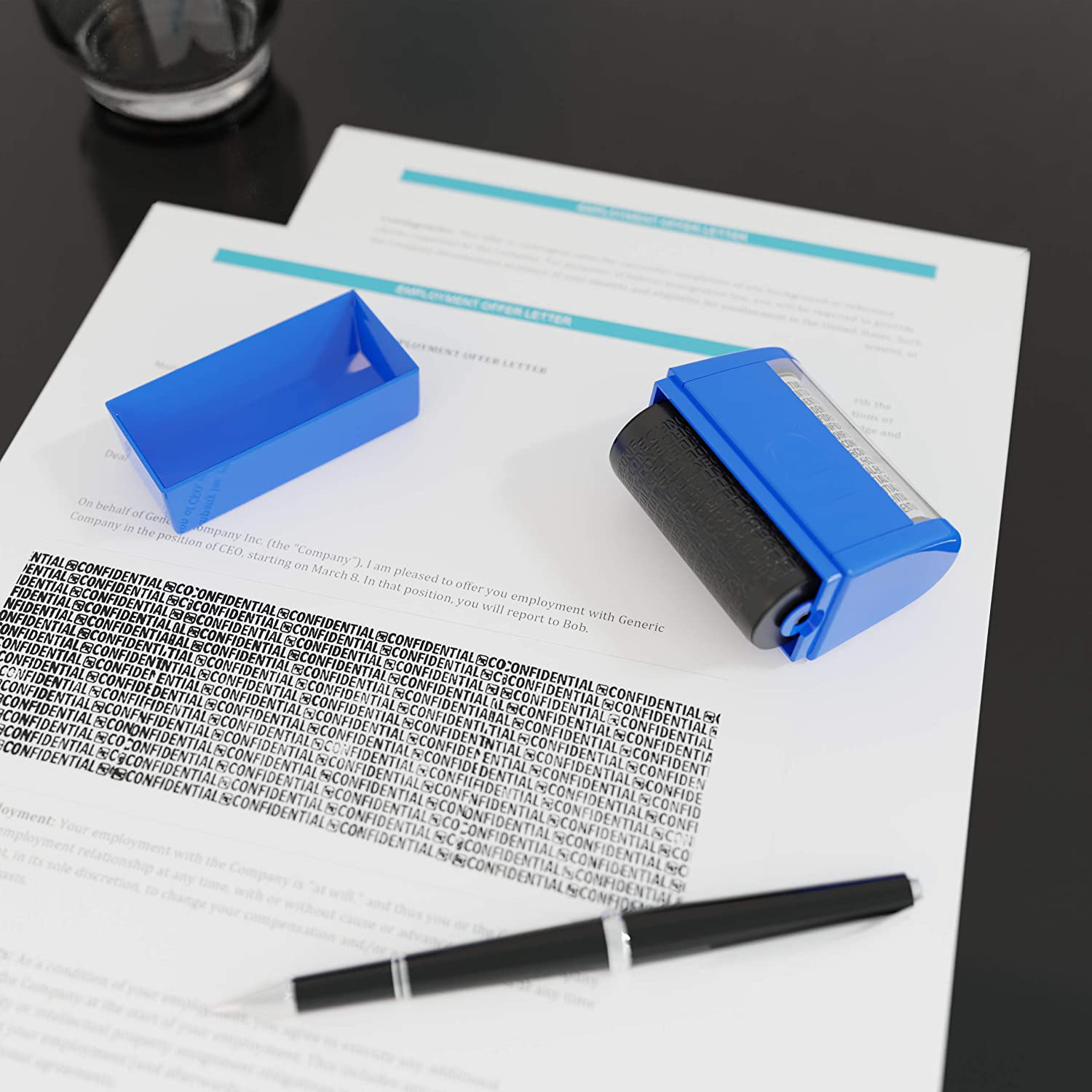 (Clearance Sale - 50% OFF) Identity Theft Protection Roller Stamp