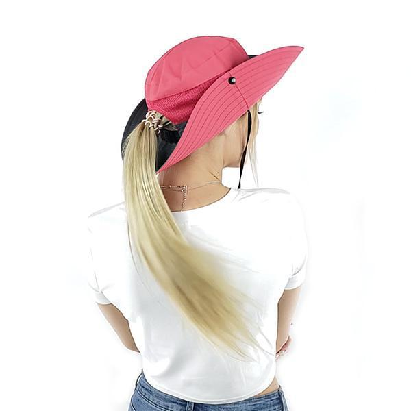 2020 new UV protection Ponytail sun hat🔥Buy more ,Save more🔥