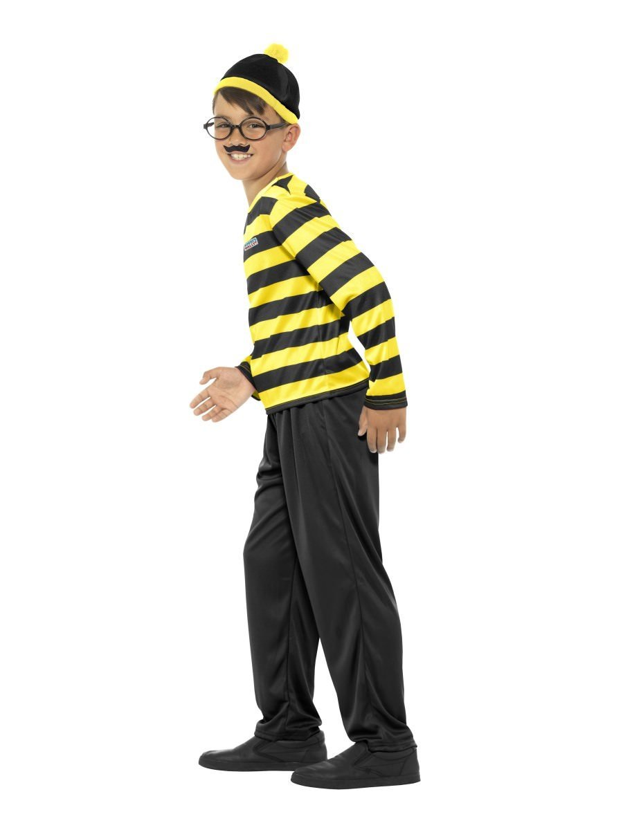 Where's Wally Odlaw Costume, Child