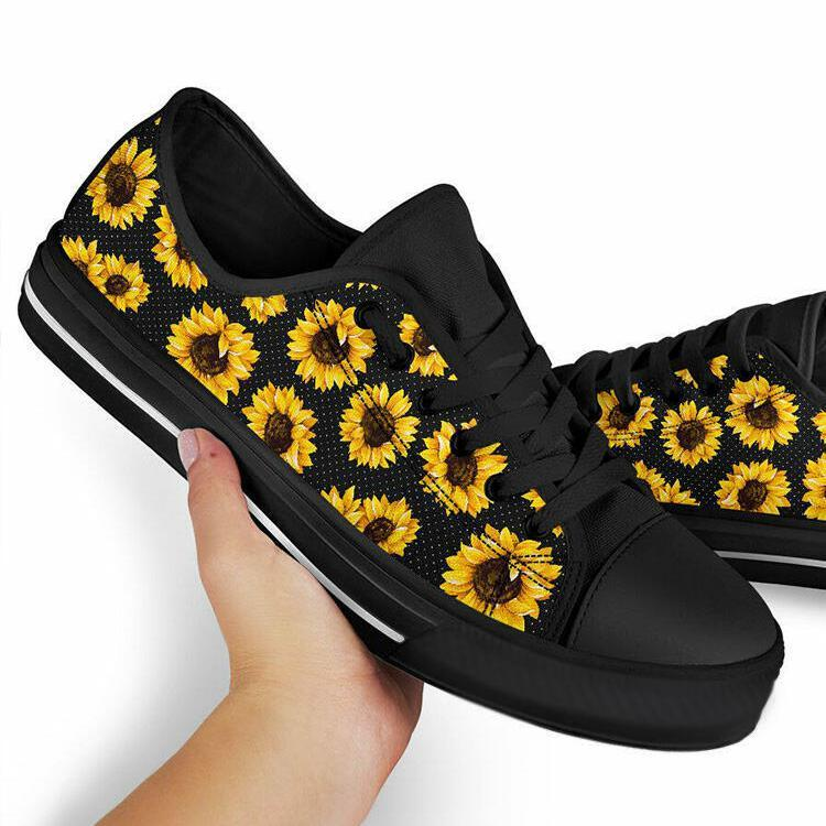 【🔥HOT SALE🔥】Sunflower Lace Up Flat Sneakers