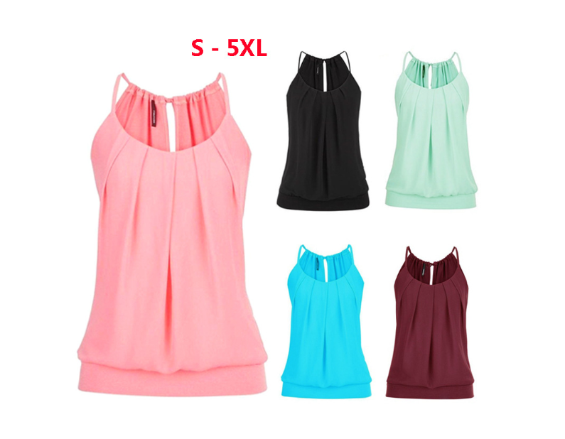 Loose womens long camisole