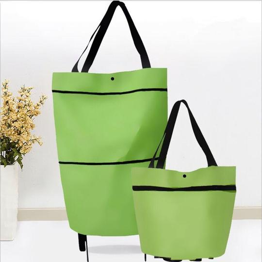 2 In 1 Foldable Shopping Cart(Hot Sale- 50% OFF)
