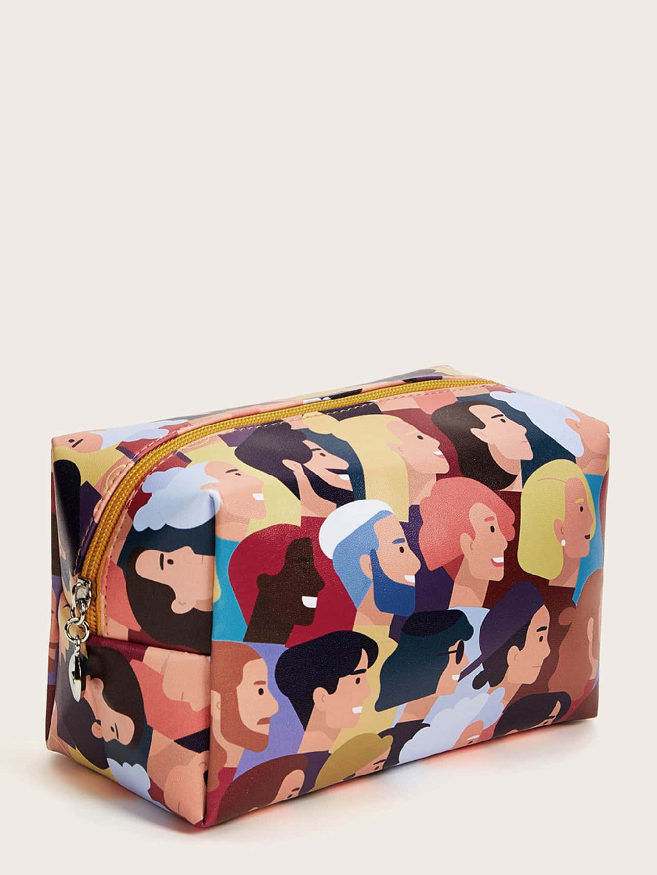 Figure Pattern Makeup Bag
