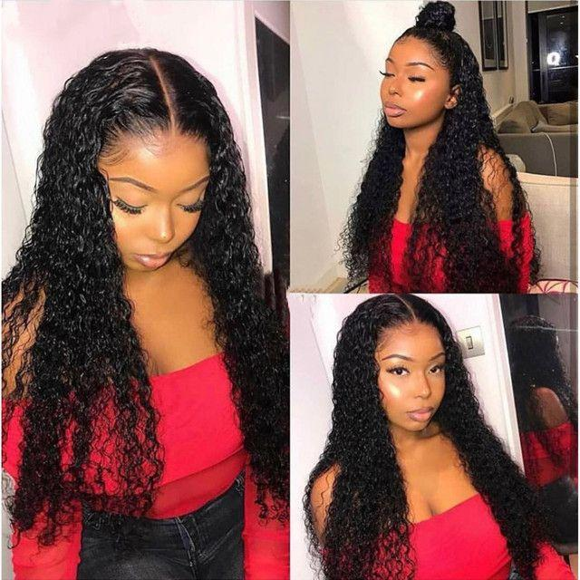 Lace Front Black Wig black women with wigs 14 inch lace frontal