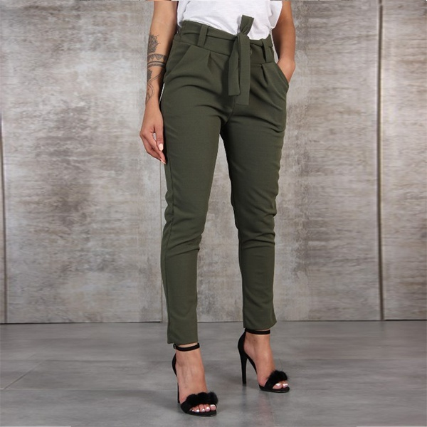 New Womens Fashion Autumn Loose Long Pants Casual Trouser