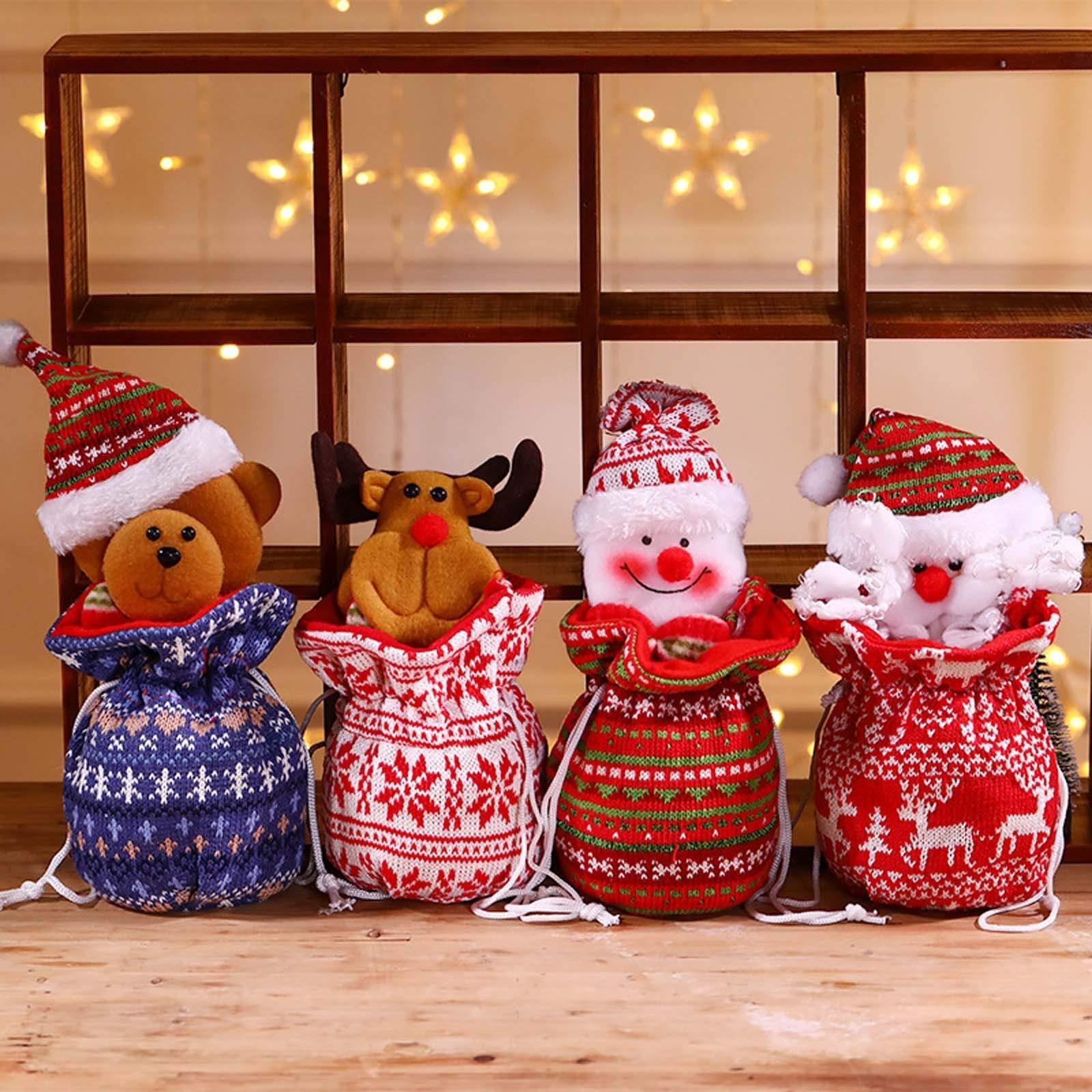 🌟Christmas Multi-Function Knitted Gift Bags