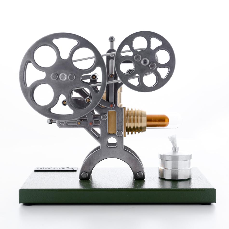 Stirling Engine Assembly Models Metal Projector Model