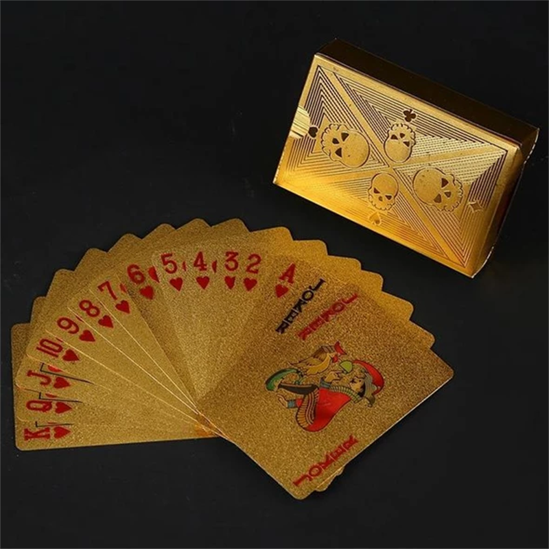 【Last Day Promotion -50% OFF-】Luxury 24K Gold Foil Poker Playing Cards (Buy 3 Free Shipping)
