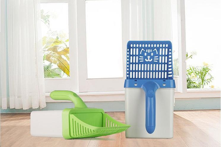 Two-in-one Cat Litter Sifter Scoop