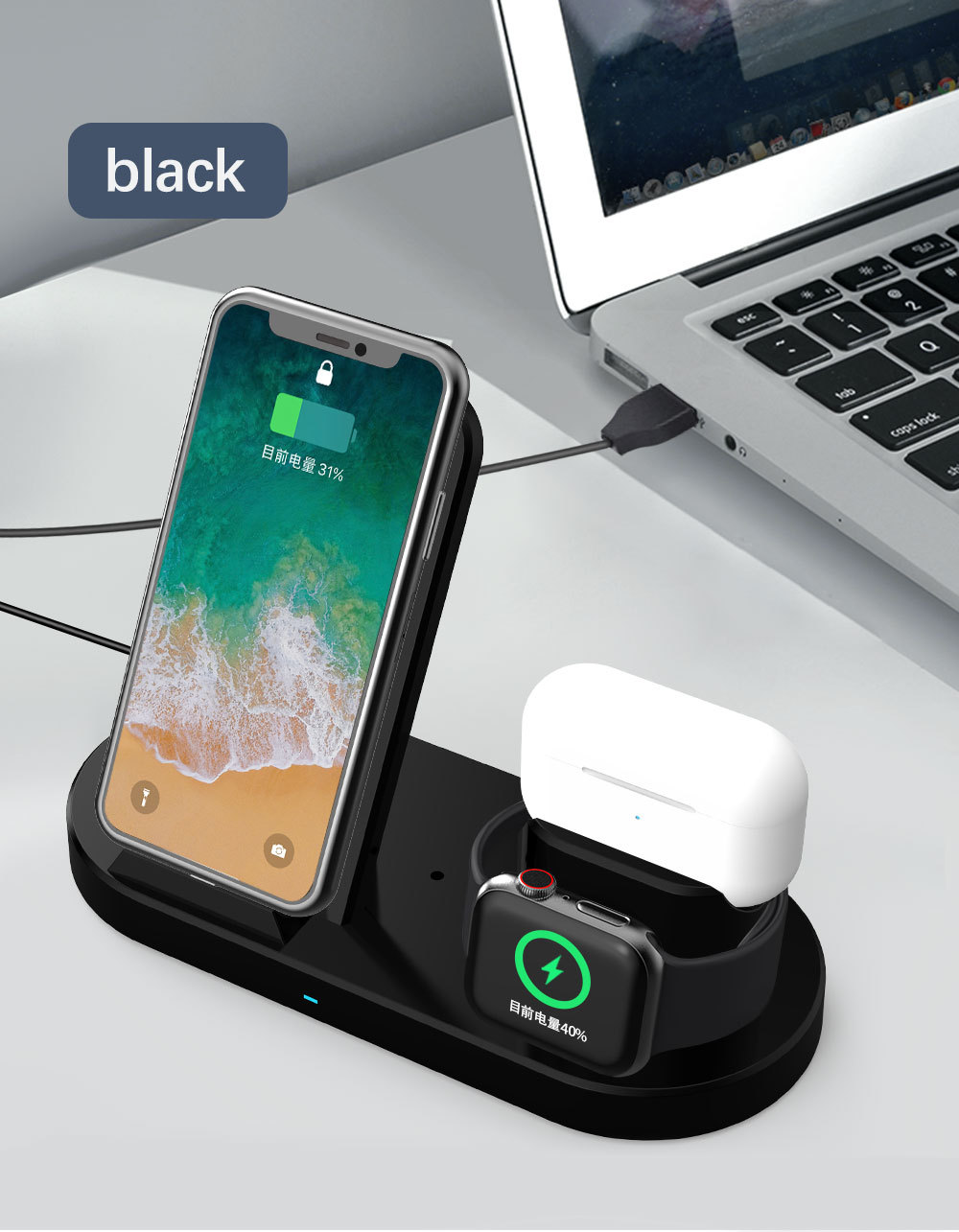 (50% OFF) 2020 new product smart wireless charger(Buy  2  Free  shipping)