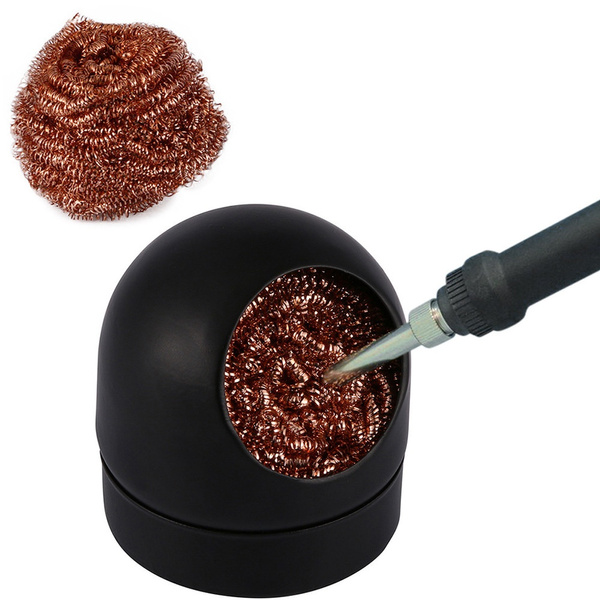 Soldering Solder Iron Tip Cleaner Steel Cleaning Wire Ball Heavy Duty Welding,Cable hansu