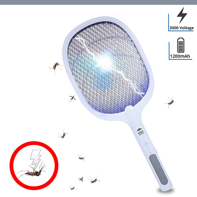 TWO IN ONE ELECTRIC MOSQUITO SWATTER