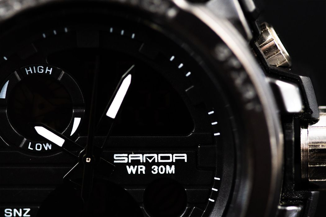 Sanda Sport Watch  (Get free 1 Sunglasses)