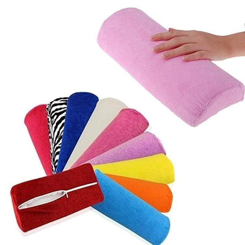 Soft Hand Rest Cushion Pillow, Nail Art Manicure Makeup Cosmetic Tools Manicure Half Column