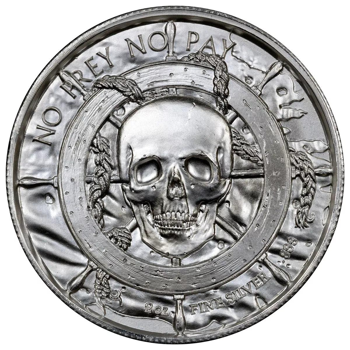 Ultra High Relief Coin - the Captain - Privateer 3