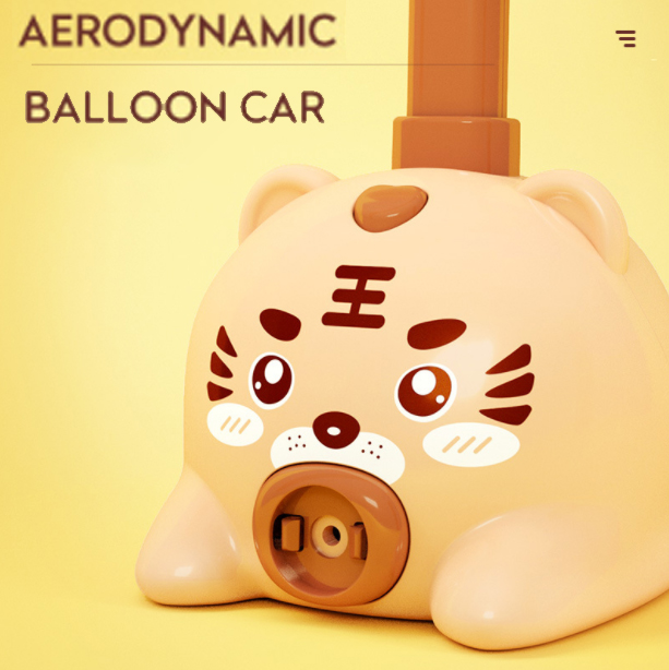 Balloons Car&Astronauts Children's Science Toy