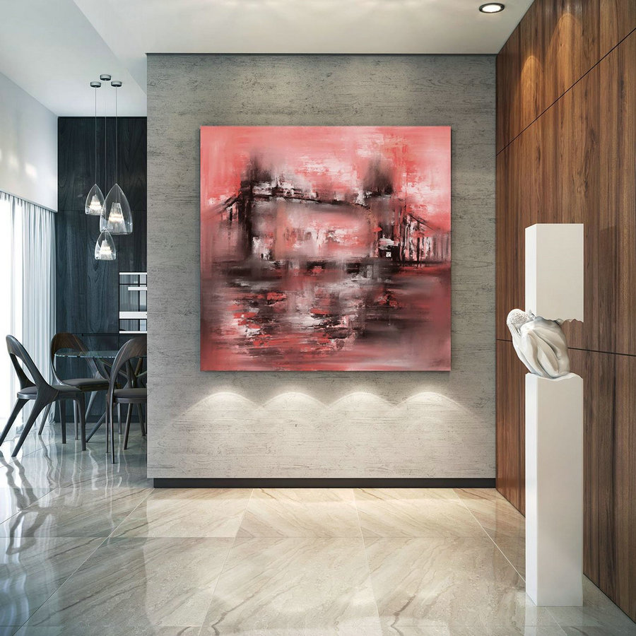 Original Painting,Painting on Canvas Modern Wall Decor Contemporary Art, Abstract Painting Pac478