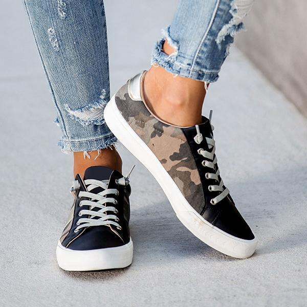 Faddishshoes Summit Fsux Leather Camo Sneakers