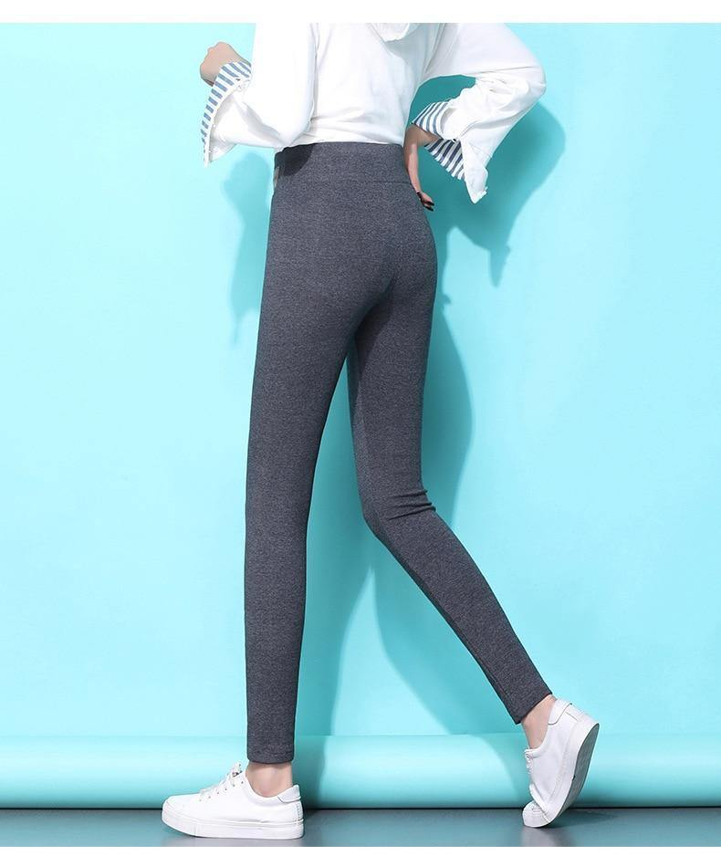 Super Thick Cashmere Leggings - Buy2Free Shipping & Extra 10% OFF
