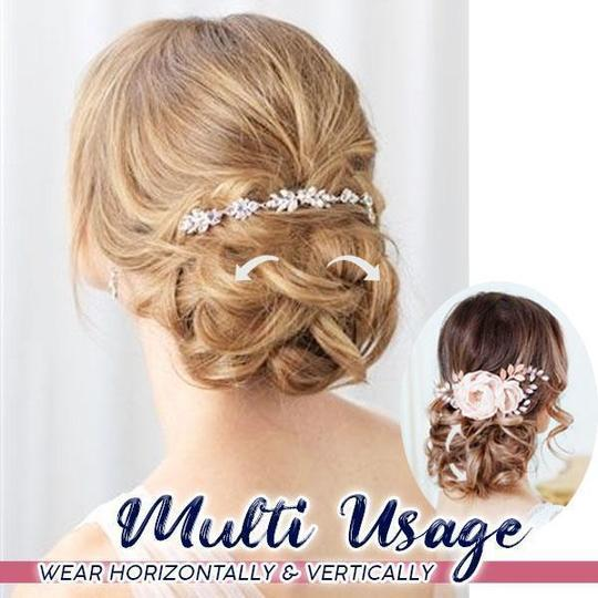 【Buy 3 free shipping】Curly Bun Comb Clip-Hot sale!!!