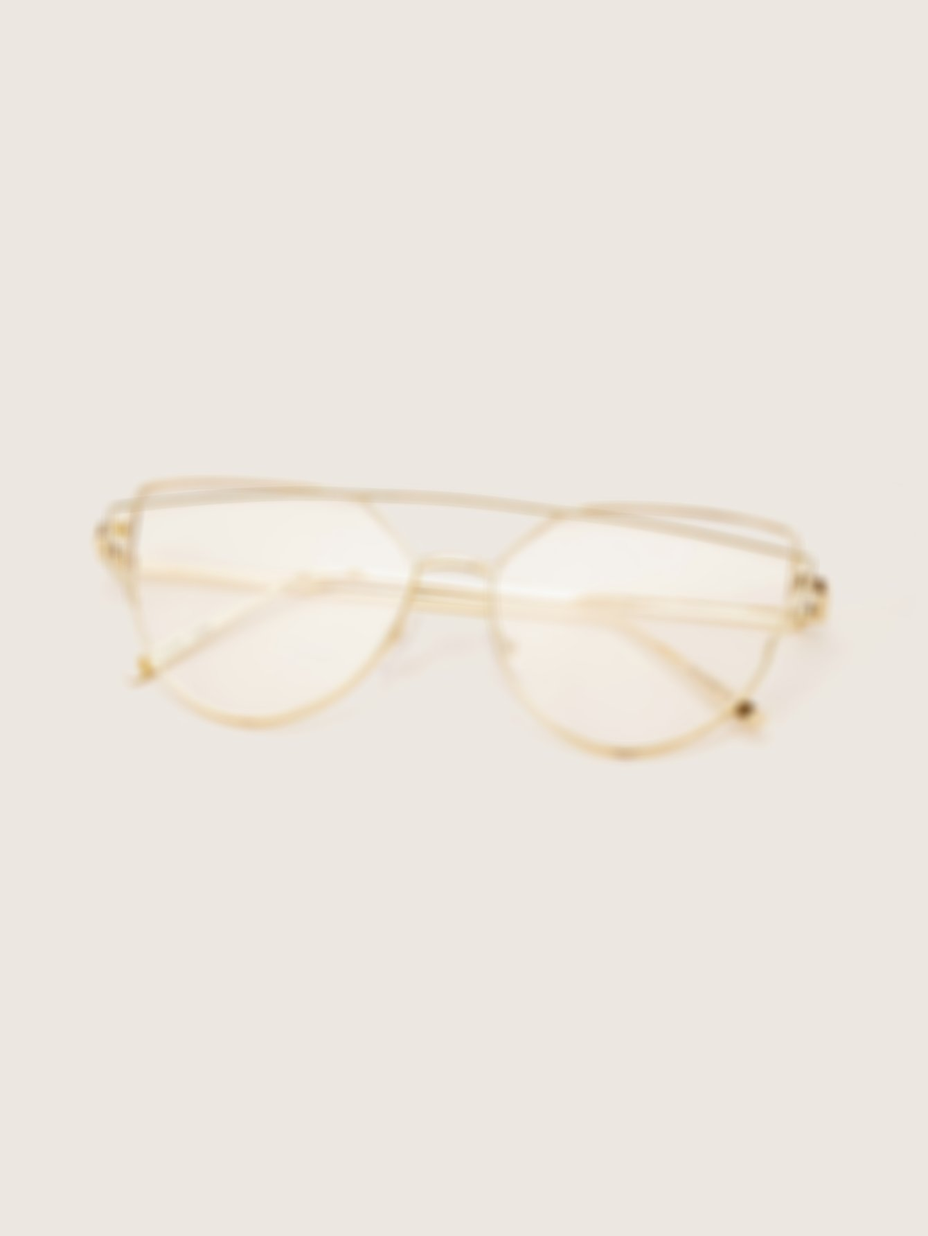 Top Bar Cat Eye Glasses