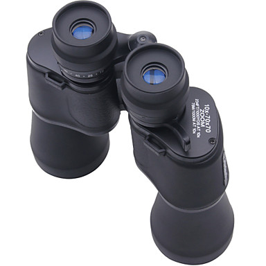 10-70 X 70 mm Binoculars Porro Weather Resistant Fully Multi-coated BAK4 Night Vision Plastic Nylon Rubber / Yes / Hunting / Bird watching