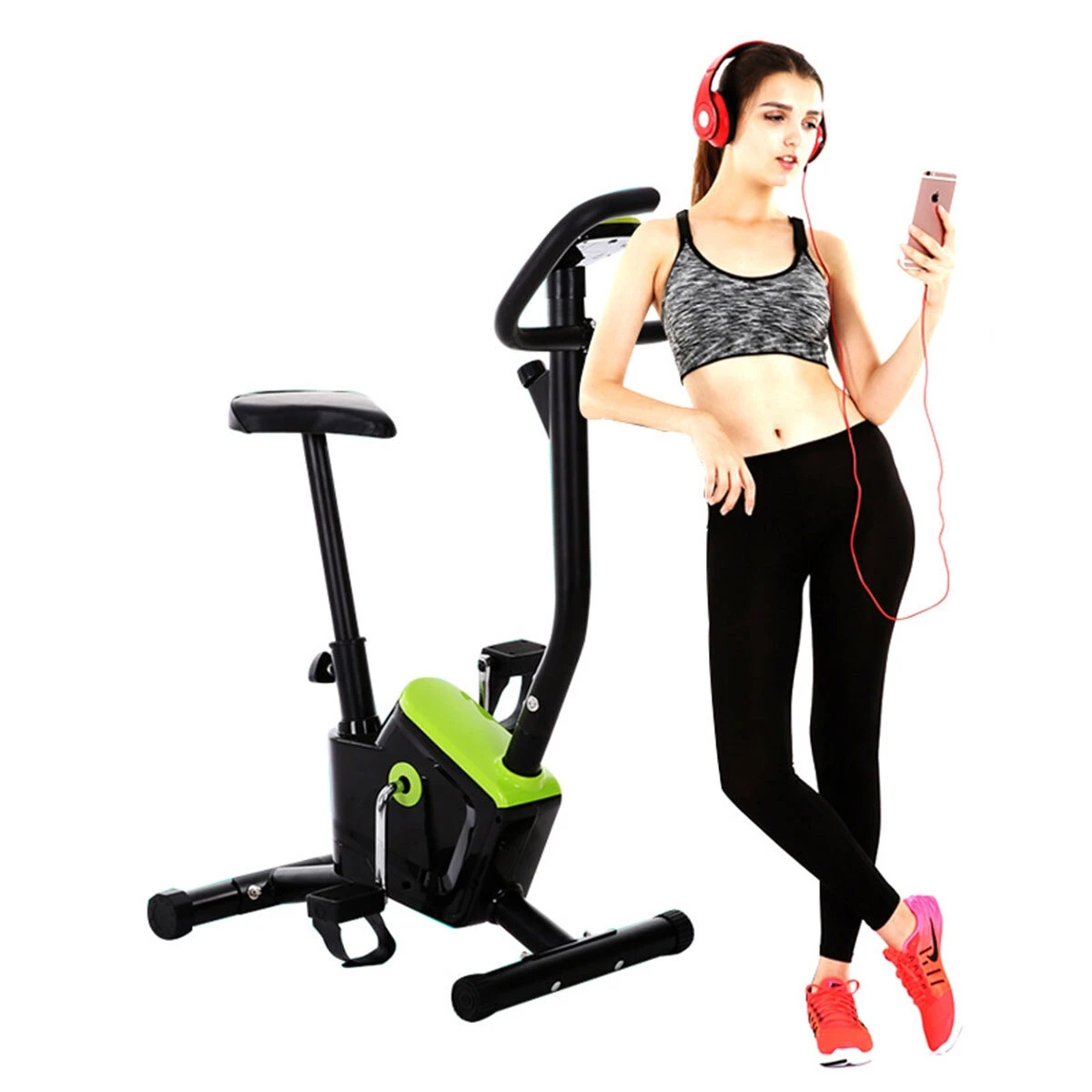 Cardio Exercise Bike Home Indoor Sport Fitness Workout Folding Training Bicycle Exercise Tools